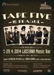Tape Five v Praze / plakát