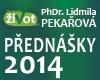PhDr. Lidmila Pekařová - přednášky