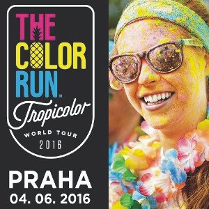 THE COLOR RUN 2016 NA TICKETPORTAL.CZ