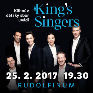 THE KING´S SINGERS GALA 2017 NA TICKETPORTAL.CZ