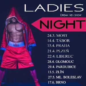 LADIES NIGHT 2017 NA TICKETPORTAL.CZ