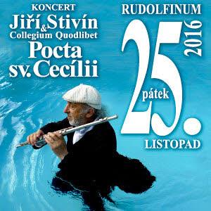 Jiří Stivín - Pocta sv. Cecílii 25. na ticketportal.cz