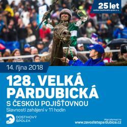 128. Velká pardubická s Českou pojišťovnou