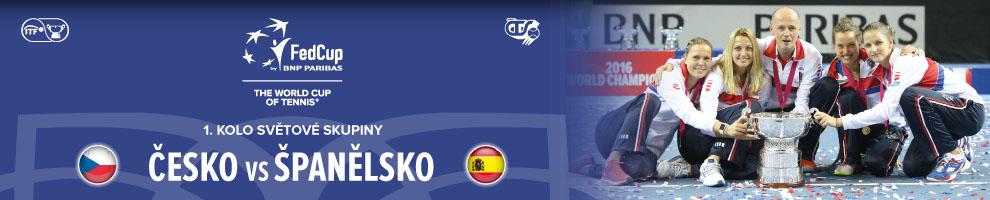 FED CUP ČESKO - ŠPANĚLSKO