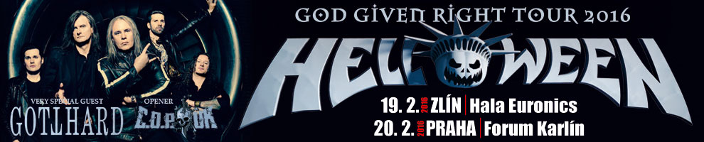 HELLOWEEN, GOTTHARD + support Crimes of Passion