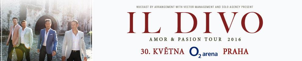 IL DIVO - Amor & Pasion Tour 2016