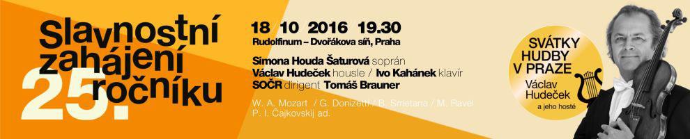 Svátky hudby v Praze, Václav Hudeček a hosté