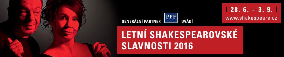 LETNÍ SHAKESPEAROVSKÉ SLAVNOSTI 2016