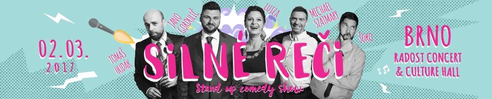 SILNÉ REČI<BR>Stand up comedy